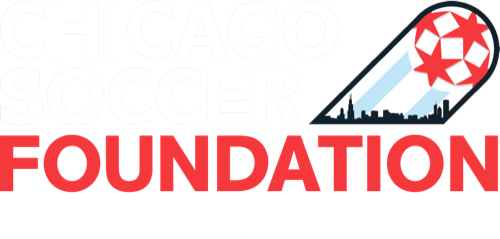 Chicago Soccer Foundation Logo White letters Top Copy