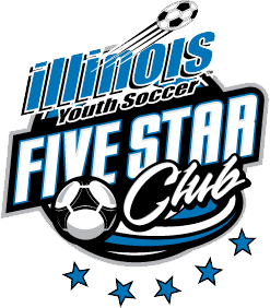 Illinois Youth Soccer - 5 Star Award
